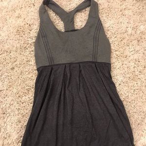 Lululemon racerback pleated tank top